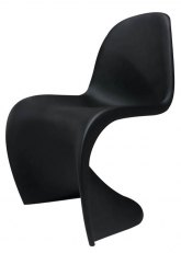 Silla Panton - Negro