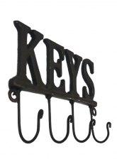 Portallaves Metal Keys - Negro