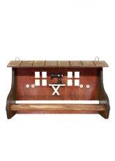 Porta Rollo Sewing Machine - Madera tono Caramelo