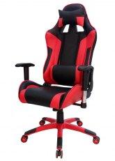 Sillón Pro Gamer Excelsior - Negro con Rojo