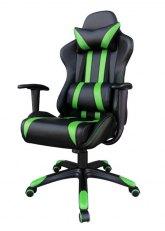 Sillón Pro Gamer X - Negro con Verde