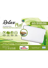 Almohada Relax Cervical Plus - Blanco