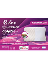 Almohada Relax Massage - Blanco