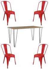 Set N° 197 - Tono Rojo