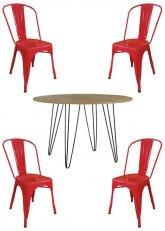 Set N° 198 - Tono Rojo