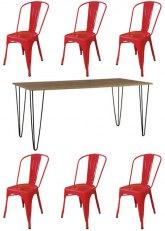 Set N° 199 - Tono Rojo