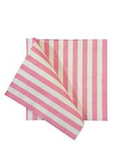 Set 20 Servilletas White and Pink - Motivos Varios