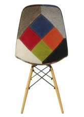 Silla Eames Patchwork - Tela Patchwork