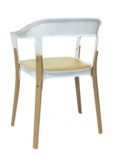 Silla Odal - Natural/Blanco