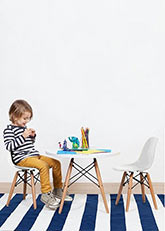 Silla Eames Infantil - Blanco