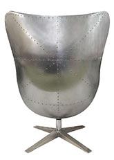 Sillón Egg Aluminum