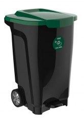 Contenedor Tramontina T-Force Ruedas 100L - Verde Oscuro