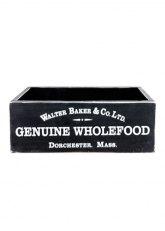 Caja Grande Wholefood Black - Negro