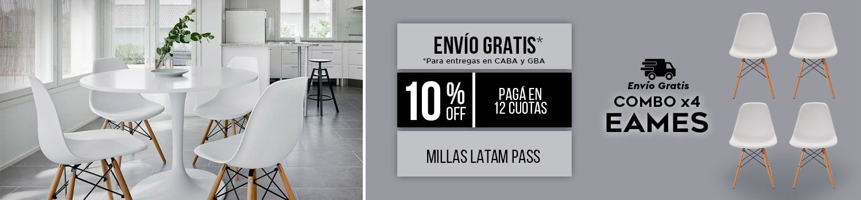 Eames x4 Flete Gratis